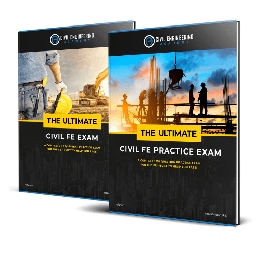 The Ultimate Civil FE Practice Exam Vol. 1 and 2